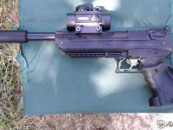 Zoraki HP-01-2 Ultra 4.5mm & TRUGLO TG8030B