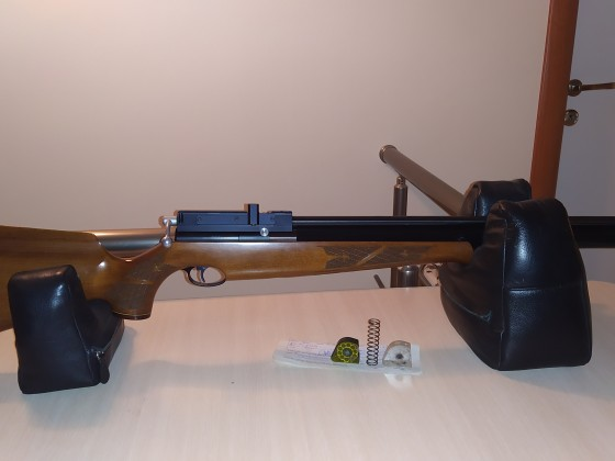 Air arms S410 Extra Fac .22