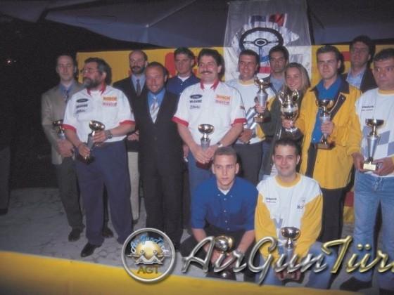 1998 Pirelli Ali Sipahi Rallisi Ödül Töreni