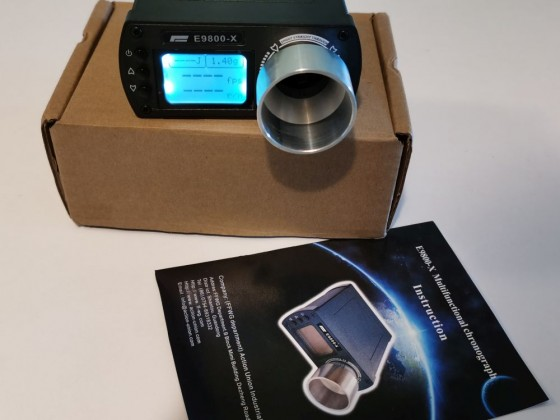 E9800-X Chronograph Hız Ölçer