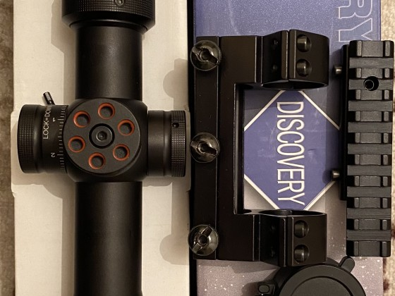 Discovery 4-16-44 FFP 22 mm ve 11 mm bağlantı aparatı