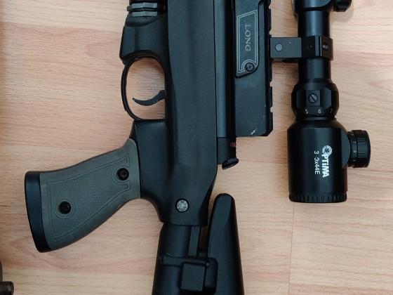 AT44 Long Tactical LW Namlu ve Regülatörlü