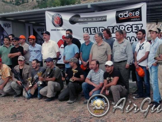 A Takımı Field Target Yarışması , Ankara - 2012