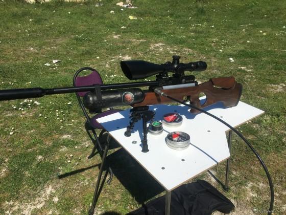 Hatsan NovaStar 5.5 LW + Gamo PT 85 Havalı tabanca + 330 Bar 6.8 Lt. Karbonfiber Tüp