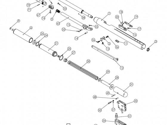 AirArms TX200 Şema ve Ayrıntıları
