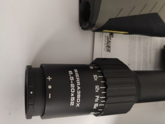 Sig Sauer BDX COMBO KIT KILO2400 SIERRA3 - 6.5-20x52mm