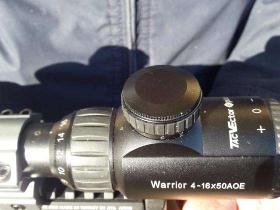 Vectör optik varrıor 4 16x50 aoe