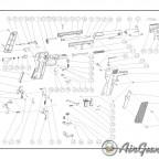 Steyr LG 110 HP Şema ve Ayrıntıları