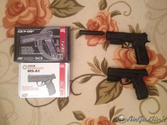 Ufaklıklar Steyr M9-A1 CZ P-09