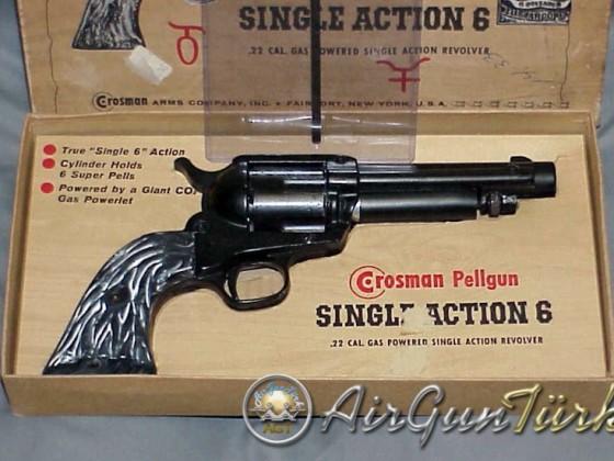 Crosman SA6 Revolver CO2 Şema ve Ayrıntıları
