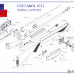 Crosman 1077 Şema ve Ayrıntıları