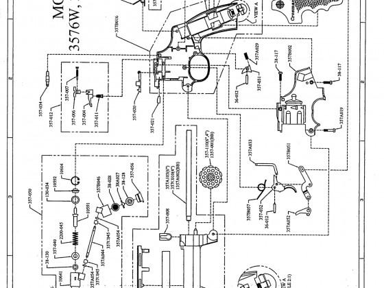"""Crosman 357 4"""" & 6"""" Models Şema ve Ayrıntıları"""