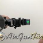 Air Venturi 3000 psi takılı Sig Sauer MCX FDE ELITE Yarı Otomatik CO2 Havalı Tüfek