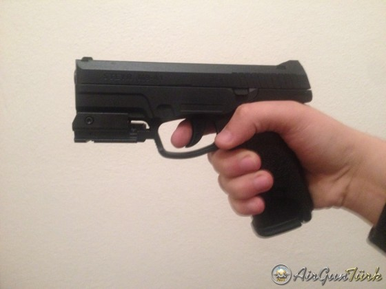 Steyr M9-A1 + Lazer