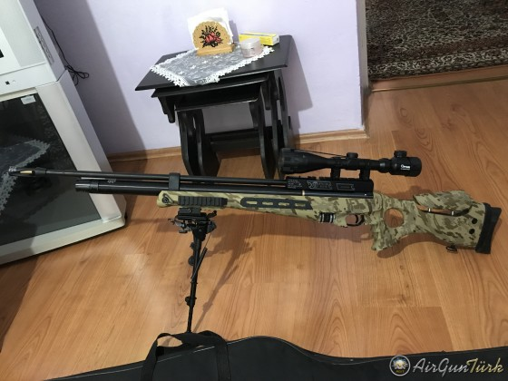 Hatsan BT65 SB ELITE LONG LW PCP