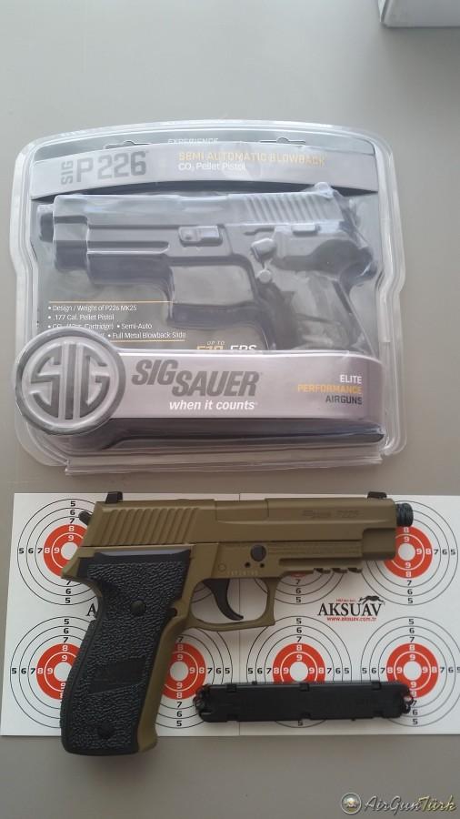 Yeni kuzu// Sig Sauer P226 Tan incelemesi