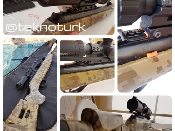 Hawke Vantage 3-9x40 AO IR Tüfek Dürbünü