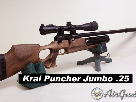 kral Puncher Jumbo .25 - This Gun is Amazing! Initial Tune 46 shots 20 extreme spread